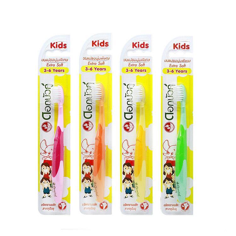 【Twin Lotus雙蓮】皇室草本超軟細毛兒童牙刷(3-6歲適用)