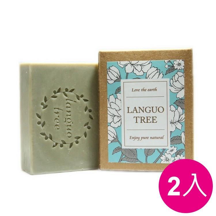 ︱蘭果樹LANGUOTREE︱艾草平安-清爽款手工香皂2入組