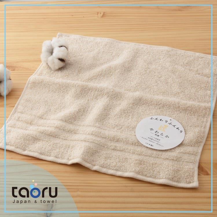 taoru【日本居家洗沐毛巾/ 方巾】匠三代_米黃