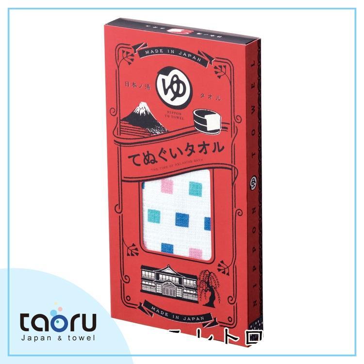 taoru【日本風呂泡湯毛巾/加長版】日本之湯_澡堂方塊