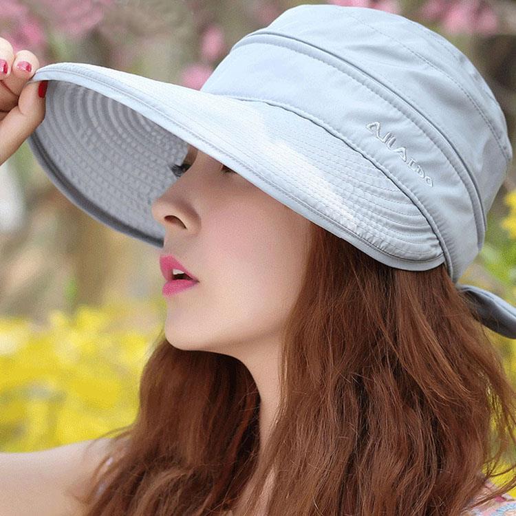時尚戶外出遊防曬可摺疊兩用遮陽帽