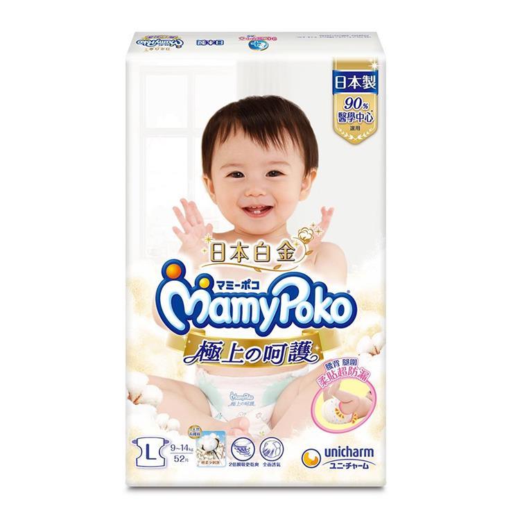 滿意寶寶極上の呵護L 104片/箱(紙尿褲)