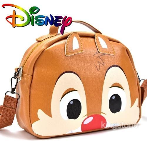 Disney【萌蒂蒂】D字皮革背包