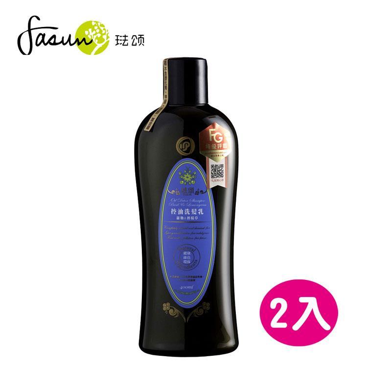 FASUN琺頌-控油洗髮乳-羅勒檸檬草 400ml / 2瓶