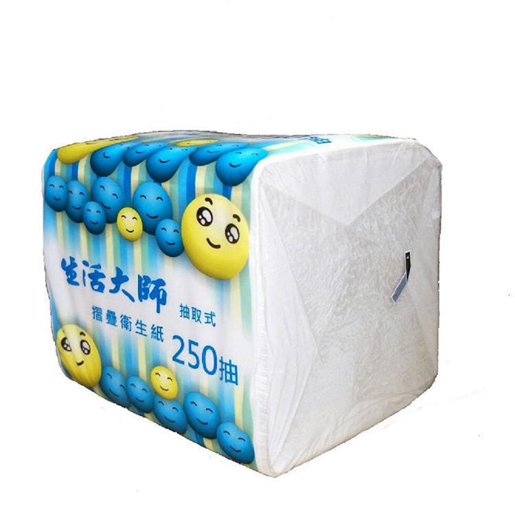 生活大師 單抽式衛生紙250抽x48包