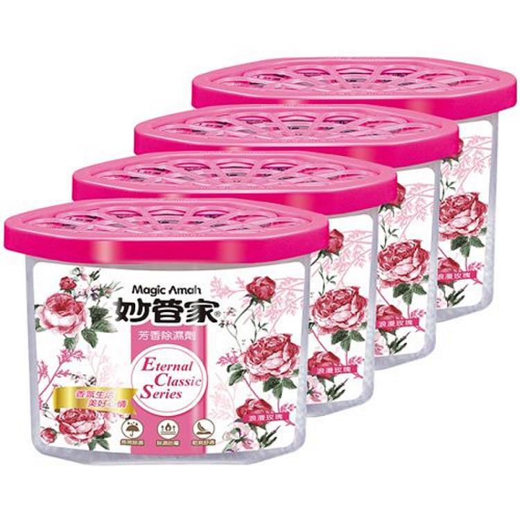 妙管家 芳香除濕劑-玫瑰花香400ml*4入*6組