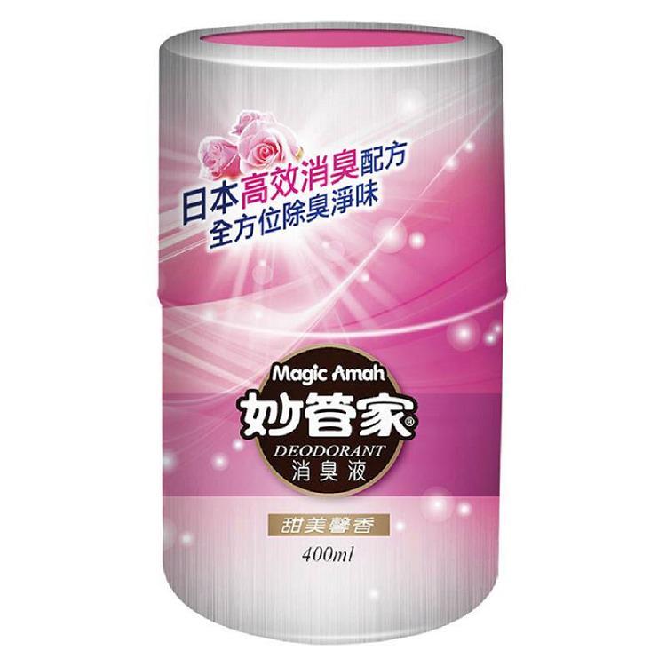 妙管家 消臭液-甜美馨香400ml*12入