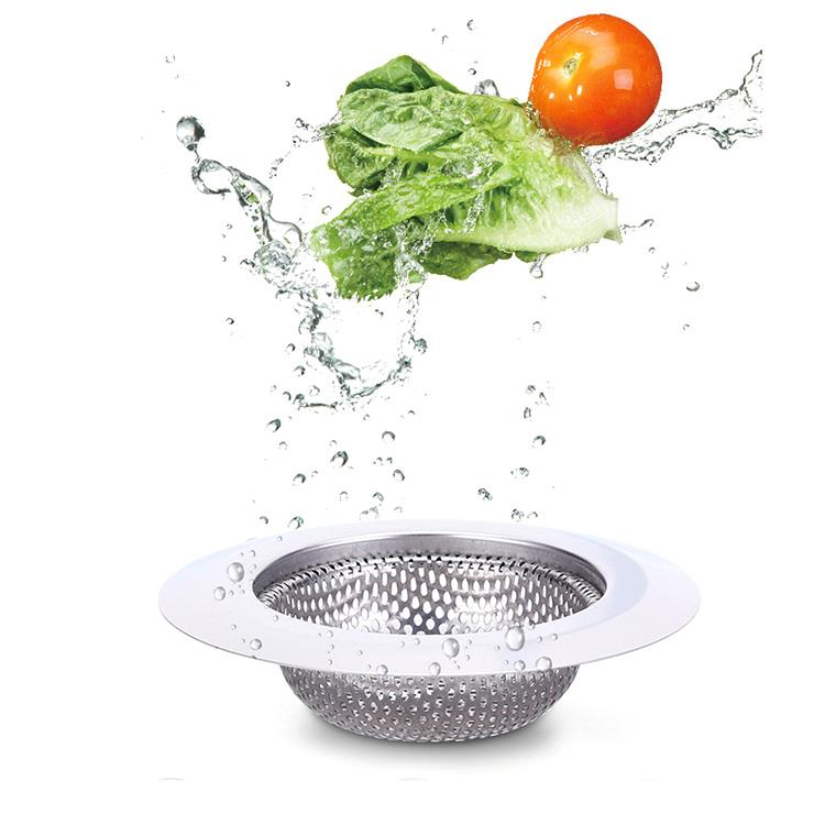 7.2cm&9cm&11.5cm 廚房水槽衛浴排水孔專用不鏽鋼濾網(2入)
