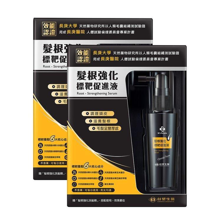 《台塑生醫》Dr's Formula髮根強化標靶促進液50ml**2入