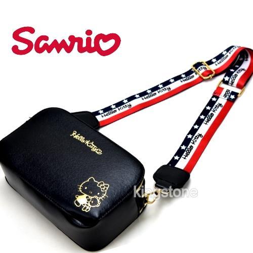 SANRIO【耀金Kitty】肩背包