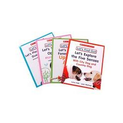 Let`s Find Out Early Learning Books:Five Senses and Opposites  (including 4 titles)大家一起來尋寶