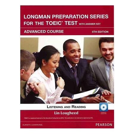 Longman Preparation Series for the TOEIC Test:Advanced Course,5/E W/MP3,AnswerKey