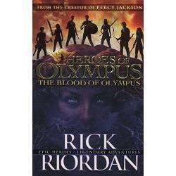 The Heroes of Olympus 5:The Blood of Olympus 混血營英雄5:英雄之血(平裝)
