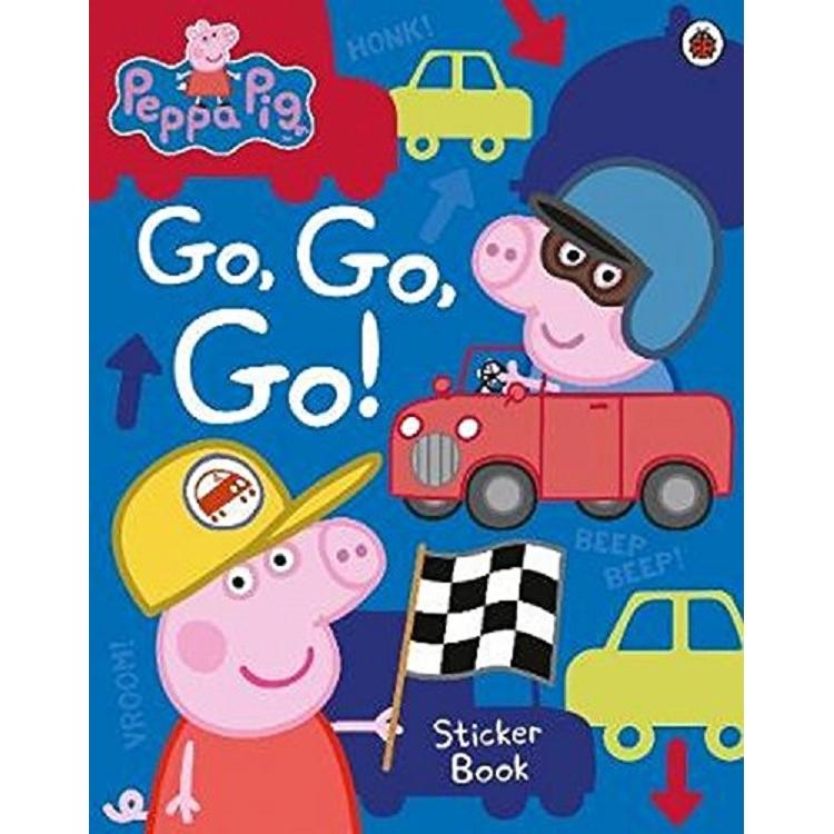 Peppa Pig: Go- Go- Go!: Vehicles Sticker Book