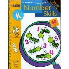 Step Ahead Deluxe Workbook: Number Skills (Grade K)