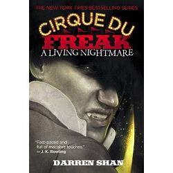 A Living Nightmare (Cirque du Freak Series #1)怪奇馬戲團-向達倫大冒險1