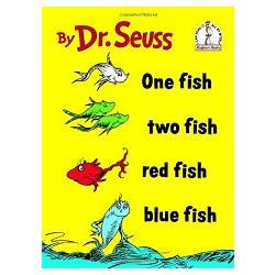 One fish, two fish, red fish, blue fish /