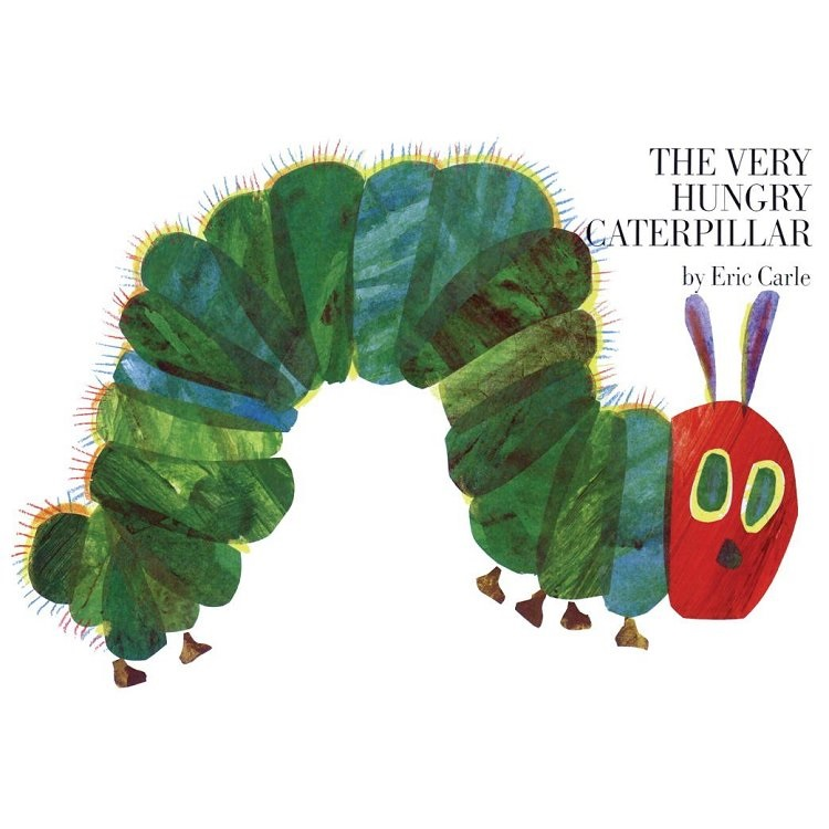 The Very Hungry Caterpillar 好餓的毛毛蟲