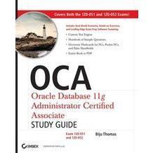 OCA Oracle Database 11g Administrator Certified Associate