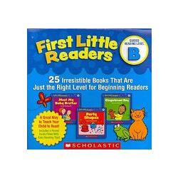 First Little Readers Guided Reading Level A Audio CD我的第一套小小閱讀文庫 B朗讀CD