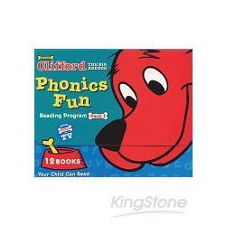 CLIFFORD PHONICS FUN PACK 1 (W/ CD)認識自然發音套書-大紅狗(系列1-附CD)