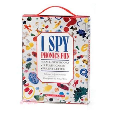 I Spy Phonics Fun Boxed Set with CD (12 Books + CD)