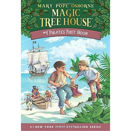 Magic Tree House #4:Pirates Past Noon