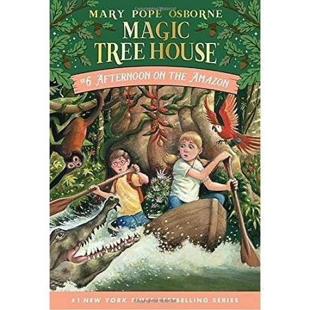 Magic Tree House #6:Afternoon on the Amazon