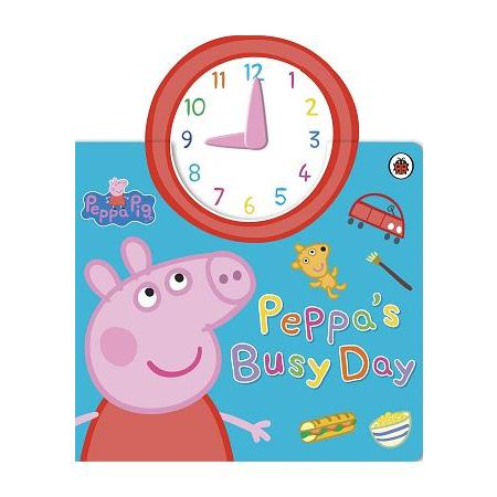 Peppa Pig:Peppa``s Busy Day 粉紅豬小妹:忙碌的一天(玩具書)
