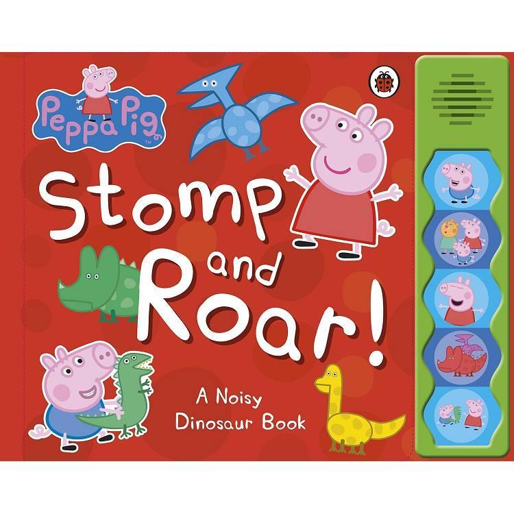 Peppa Pig:Stomp and Roar! 粉紅豬小妹:去看恐龍(有聲書)