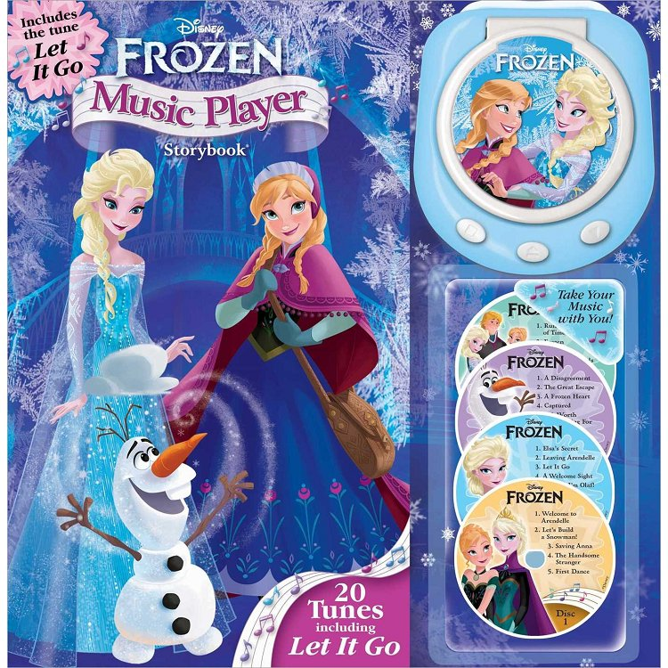 Disney Frozen Music Player Storybook