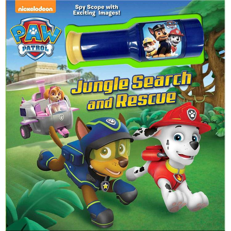 Paw Patrol Jungle Search and Rescue