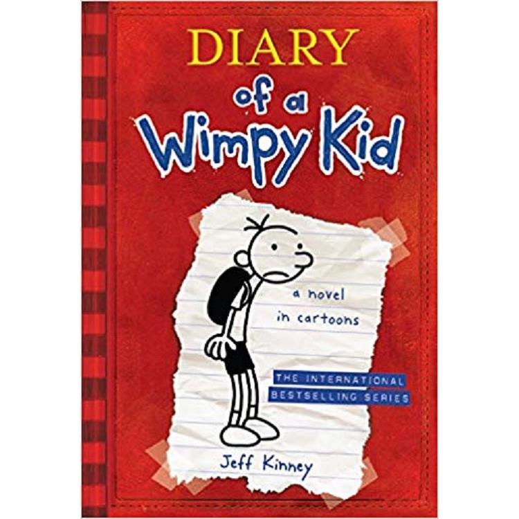 Diary of a Wimpy Kid 1 (Internationl edition) 遜咖日記1:葛瑞的中學求生記(平裝)