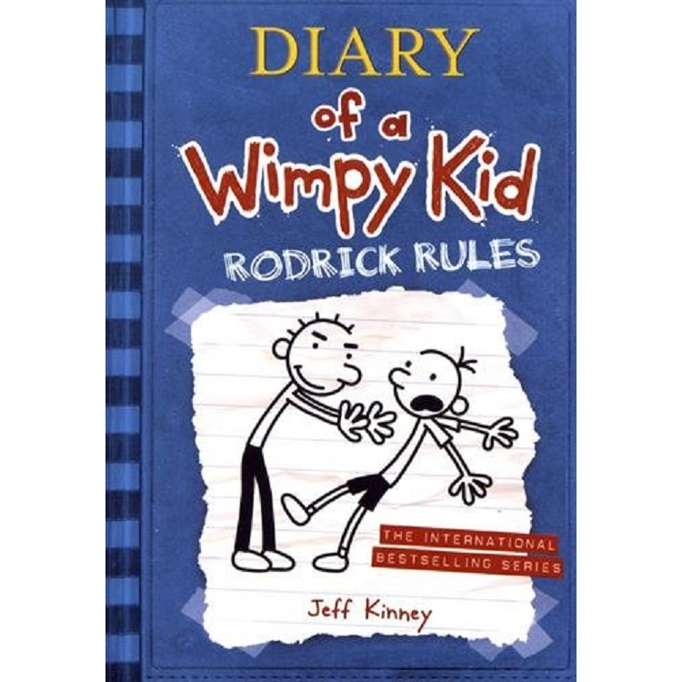 Diary of a Wimpy Kid 2: Rodrick Rules(International edition) 遜咖日記2:葛瑞不能說的祕密(平裝)