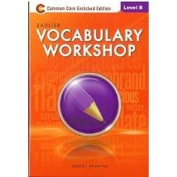 Sadlier Vocabulary Workshop Level B: Student Edition