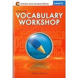 Sadlier Vocabulary Workshop Level C: Student Edition