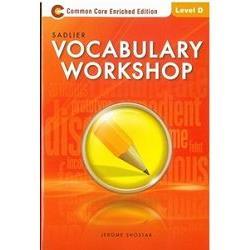 Sadlier Vocabulary Workshop Level D: Student Edition
