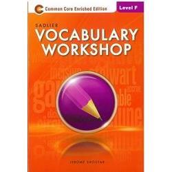 Sadlier Vocabulary Workshop Level F: Student Edition