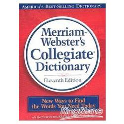 Merriam-Webster's Collegiate Dictionary: 11th Edition (w/ CD-ROM)
