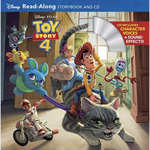 Toy Story 4 Read-along Storybook + Cd