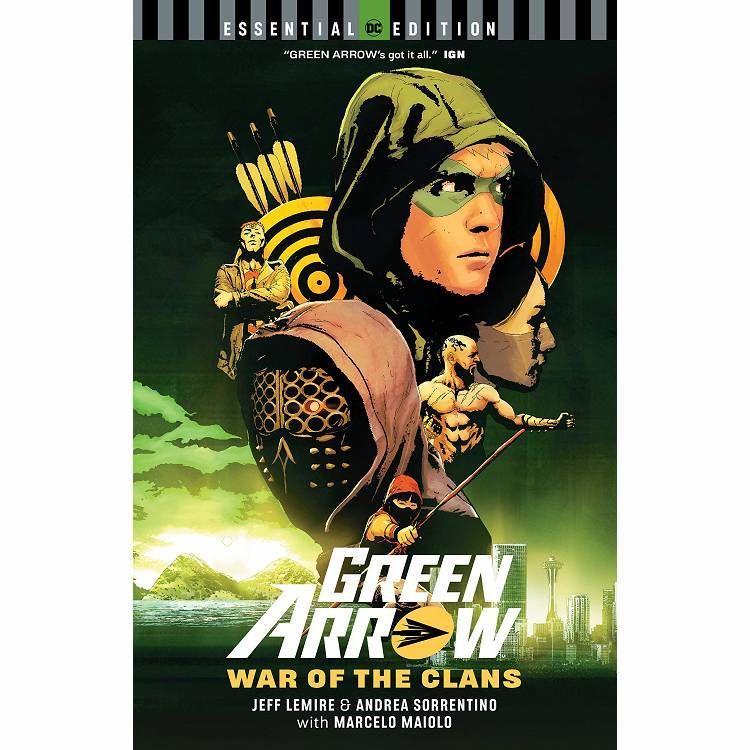 Green Arrow by Jeff Lemire & Andrea Sorrentino
