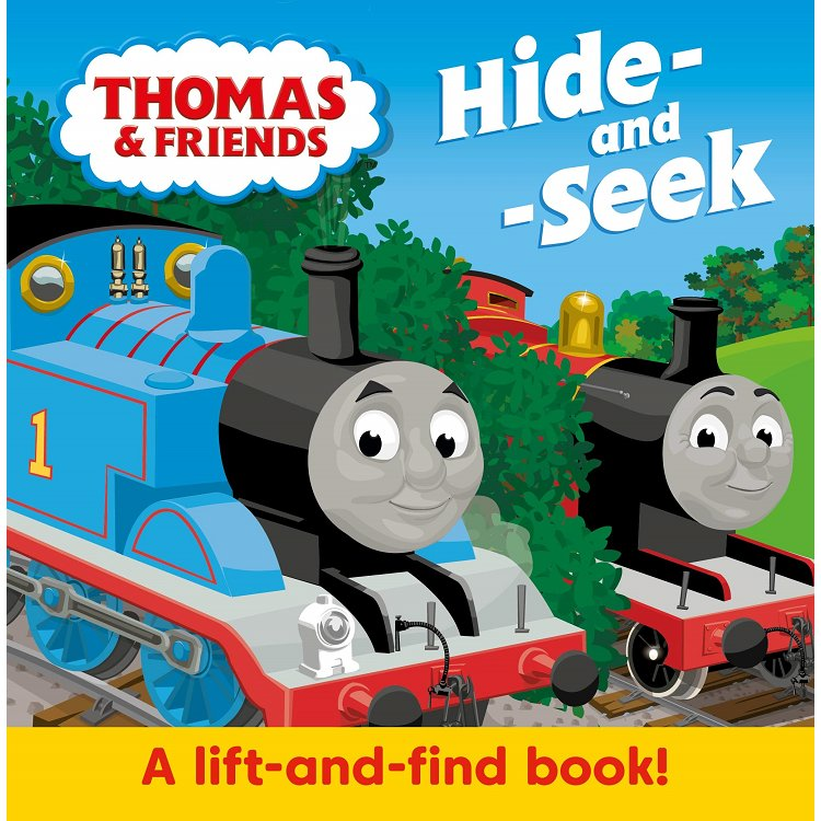 Thomas & Friends: Hide & Seek: Lift-the-flap book
