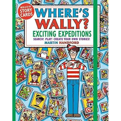 Where`s Wally? Exciting Expeditions: Search! Play! Create Your Own Stories!