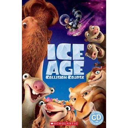 Scholastic Popcorn Readers Level 2: Ice Age 5: Collision Course with CD冰原歷險記5:笑星撞地球
