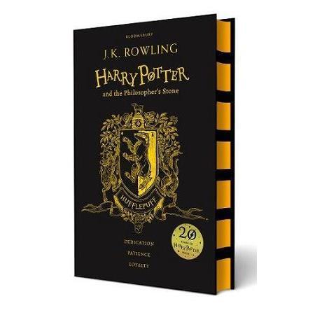 Harry Potter Philos Stone Hufflepuff Ed赫夫帕夫學院精裝版哈利波特1:神秘的魔法石