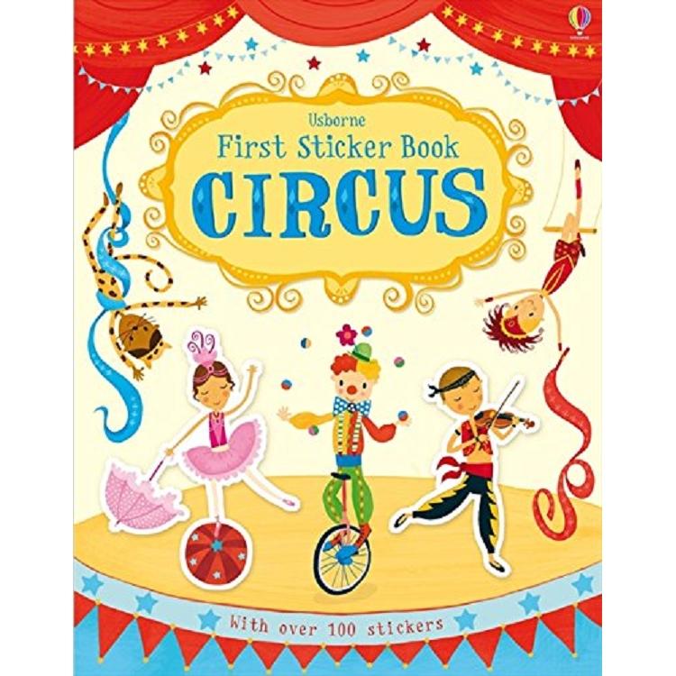 First Sticker Book Circus