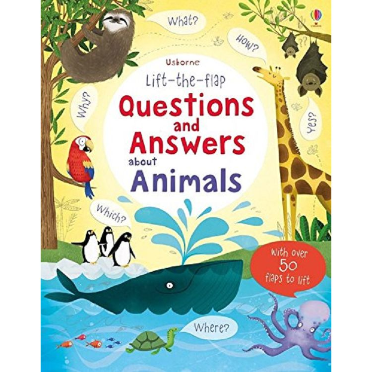 Lift the Flap Questions&Answers about Animals