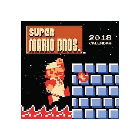Super Mario Bros 2018 Calendar(Wall)