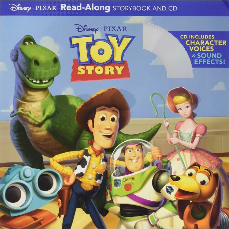 Toy Story Read-along Storybook and Cd 玩具總動員(書+cd)