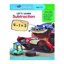 Disney-Pixar: Cars - Subtraction學習技巧系列:汽車們教減法